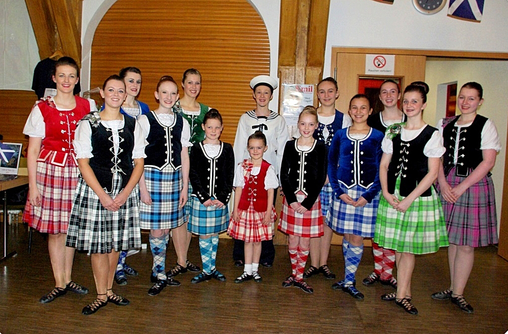 Jenkins Dancers in Odenwald.