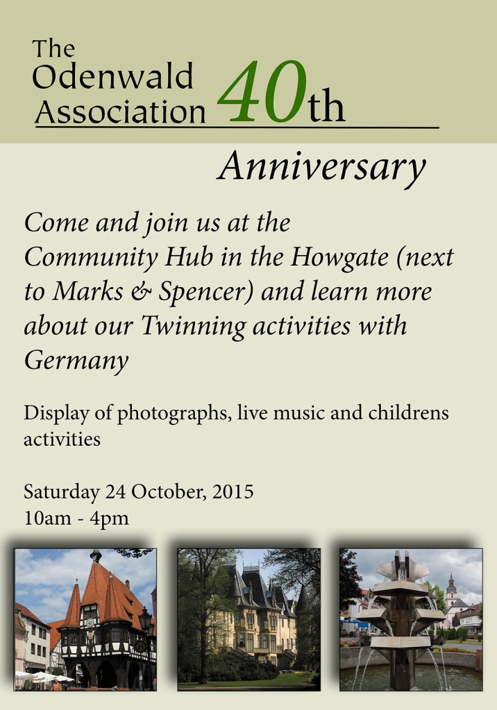 Poster for the Howgate display.